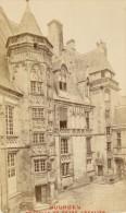 Bourges Palais De Jacques Coeur Cher France Ancienne CDV Photo 1875 - Old (before 1900)