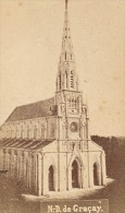 Graçay Eglise Notre Dame Cher France Ancienne CDV Photo 1875 - Old (before 1900)