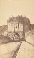Dinan Porte Saint Malo Cotes Du Nord France Ancienne CDV Photo 1875 - Old (before 1900)