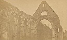 Bernay Vestiges Prieure Ste Trinite Eure France Ancienne CDV Photo 1870 - Old (before 1900)