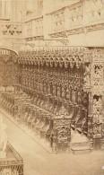 Brou Monastere Royal Detail Bourg En Bresse Ain Muzet Et Joguet Ancienne CDV Photo 1865 - Old (before 1900)