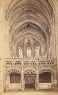 Brou Monastere Royal Jubé Bourg En Bresse Ain Muzet Et Joguet Ancienne CDV Photo 1865 - Old (before 1900)