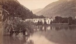 Luchon Lac Des Quinconces Haute Garonne France Ancienne CDV Photo 1880 - Old (before 1900)