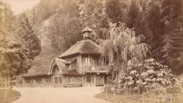 Luchon Buvette Du Pré Haute Garonne France Ancienne CDV Photo 1880 - Old (before 1900)