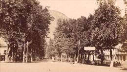 Luchon Allee D Etigny Haute Garonne France Ancienne CDV Photo 1880 - Old (before 1900)