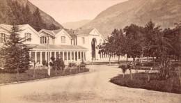 Luchon Etablissement Thermal Haute Garonne France Ancienne CDV Photo 1880 - Old (before 1900)