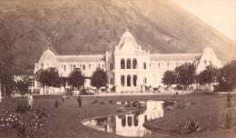 Luchon Casino Haute Garonne France Ancienne CDV Photo 1880 - Old (before 1900)
