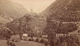 Luchon Castel Vieil & Venasques Haute Garonne France Ancienne CDV Photo 1880 - Old (before 1900)