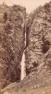 Luchon Cascade D'Enfer Haute Garonne France Ancienne CDV Photo 1880 - Photographs