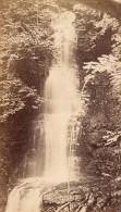 Luchon Cascade De Sourrouille Haute Garonne France Ancienne CDV Photo 1880 - Old (before 1900)