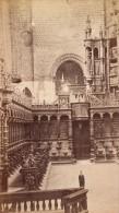 Saint Bertrand De Comminges Choeur Cathedrale Haute Garonne France Ancienne CDV Photo 1880 - Old (before 1900)