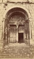 Saint Bertrand De Comminges Porte Cathedrale Haute Garonne France Ancienne CDV Photo 1880 - Old (before 1900)