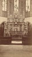Saint Bertrand De Comminges Autel Cathedrale Haute Garonne France Ancienne CDV Photo 1880 - Old (before 1900)