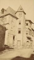 Saint Bertrand De Comminges Maison Bridaut Haute Garonne France Ancienne CDV Photo 1880 - Old (before 1900)