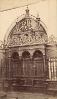 Saint Bertrand De Comminges Cathedrale Haute Garonne France Ancienne CDV Photo 1880 - Old (before 1900)