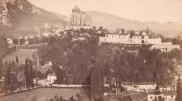 Saint Bertrand De Comminges Panorama Haute Garonne France Ancienne CDV Photo 1880 - Old (before 1900)