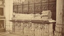 Saint Bertrand De Comminges Cathedrale Tombeau Haute Garonne France Ancienne CDV Photo 1880 - Old (before 1900)