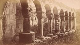 Saint Bertrand De Comminges Ruines Du Cloitre Haute Garonne France Ancienne CDV Photo 1880 - Old (before 1900)