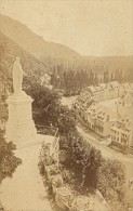 Saint Beat Vierge & Panorama Haute Garonne France Ancienne CDV Photo 1880 - Old (before 1900)