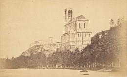 Toulouse ? Eglise Haute Garonne France Ancienne CDV Photo 1880 - Old (before 1900)