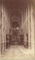Toulouse Eglise Saint Sernin Haute Garonne France Ancienne CDV Photo 1880 - Old (before 1900)