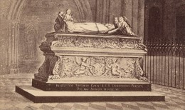 Tours Cathedrale St Gatien Tombeau Indre Et Loire France Ancienne CDV Photo 1870 - Old (before 1900)