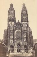 Tours Cathedrale Saint Gatien Indre Et Loire France Ancienne CDV Photo 1870 - Old (before 1900)