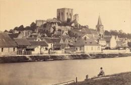 Montrichard Loir Et Cher Chateau France Ancienne CDV Photo 1870 - Old (before 1900)