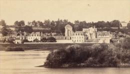 Tours Abbaye De Marmoutier Indre Et Loire France Ancienne CDV Photo 1870 - Old (before 1900)