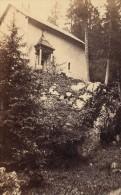 Grande Chartreuse Chapelle Saint Bruno Isere Second Empire CDV Photo 1865 - Old (before 1900)
