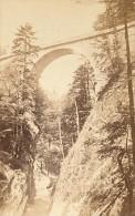 Grande Chartreuse Pont Saint Bruno Isere Second Empire CDV Photo 1865 - Photos