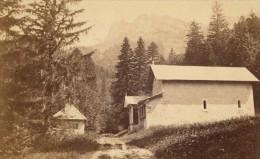 Grande Chartreuse ND De Casalibus Isere Second Empire CDV Photo 1865 - Old (before 1900)