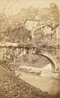 Grande Chartreuse Pont Sur Le Furon Isere Second Empire CDV Photo 1865 - Old (before 1900)