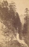 Grande Chartreuse La Croix Verte Isere Second Empire CDV Photo 1870 - Old (before 1900)