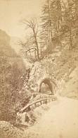 Chemin De La Grande Chartreuse Isere Second Empire CDV Photo 1865 - Old (before 1900)