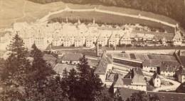 Grande Chartreuse Panorama Vue Du Pavillon Isere CDV Photo 1880 - Photographs