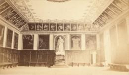 Grande Chartreuse Couvent Salle De Réunion Isere Second Empire CDV Photo 1865 - Old (before 1900)