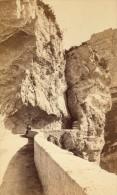 Pont En Royans Route De Grands Goulets Isere Second Empire CDV Photo 1865 - Old (before 1900)