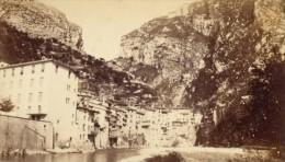 Pont En Royans La Bourne Isere Second Empire CDV Photo 1865 - Old (before 1900)