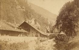 St Laurent Du Pont La Fourvoirie Acieries Isere Second Empire CDV Photo 1865 - Old (before 1900)