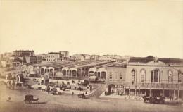 Australia Melbourne Bourke St Paddy's Market Haymarket CDV Nettleton Photo 1870 - Old (before 1900)