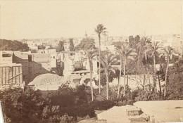 Egypt Cairo Panorama Old CDV Photo 1865 - Photographs