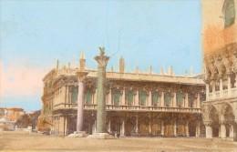 Italie Venise Place San Marco Ancienne CDV Photo Colorisée 1875 - Photos