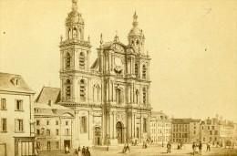 France Dessin Du Havre Eglise Ancienne CDV Morier 1865