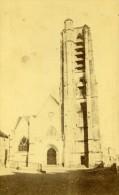 France Aisne Château Thierry Eglise St Crepin Ancienne CDV Photo Rep 1870 - Photographs