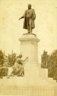 Italie Florence Monument Cavour Ancienne CDV Photo Brogi 1870 - Photographs