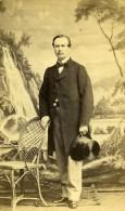 France Paris Homme Mode Du Second Empire Ancienne CDV Photo Ken 1860's - Photographs