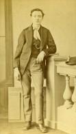 France Paris Homme Mode Du Second Empire Ancienne CDV Photo Levy 1860's - Photographs