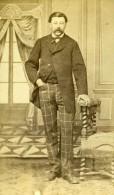 France Paris Homme Mode Du Second Empire Ancienne CDV Photo Anonyme 1860's - Photographs