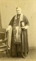 France Paris Ecclésiastique Religion Ancienne CDV Photo Bisson 1860's - Photographs